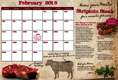 Feb Striploin Steak